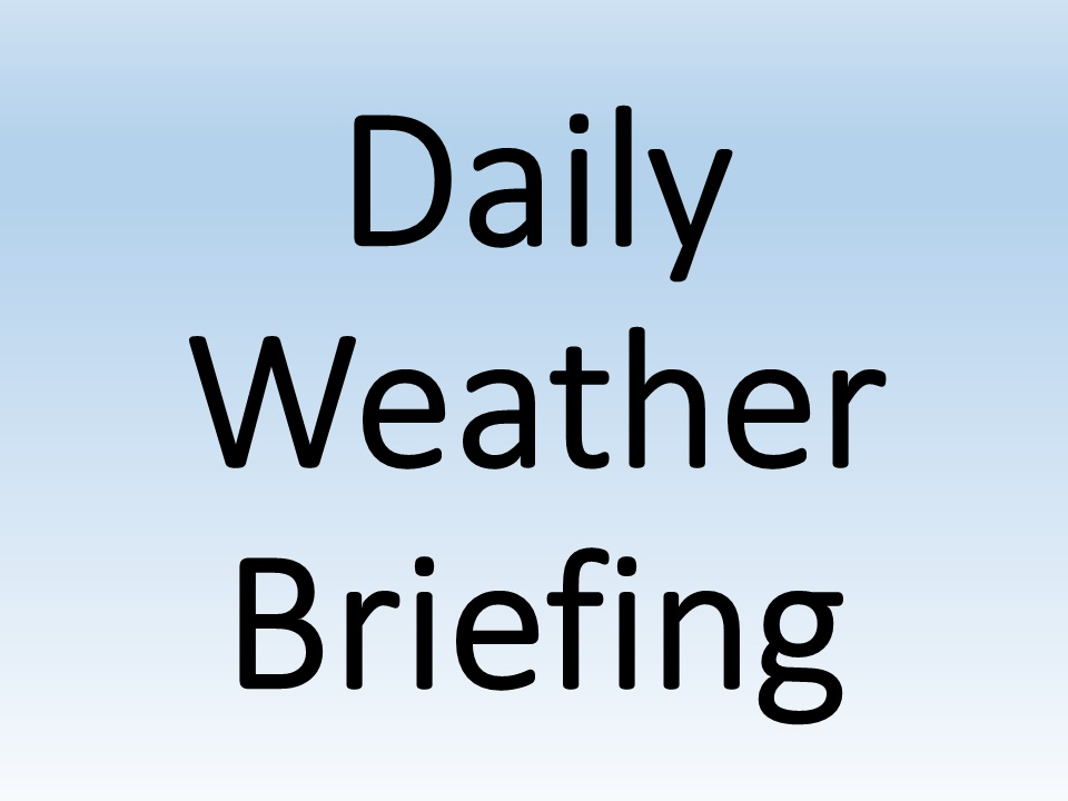 Daily Wallops Weather Brief